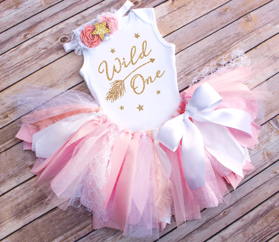 985df85bbd9 Gold First Birthday Bodysuit And Pink Tutu Glitter Gold One Romper Baby  Girl First Birthday Outfit